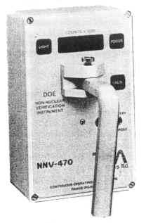 Радиационный монитор NNV-470As