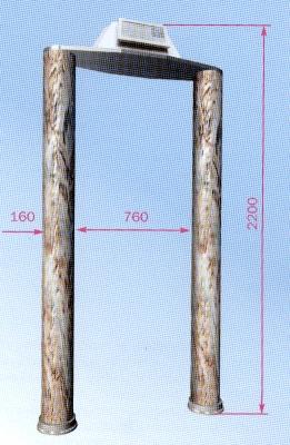 Стационарный металлодетектор Признак