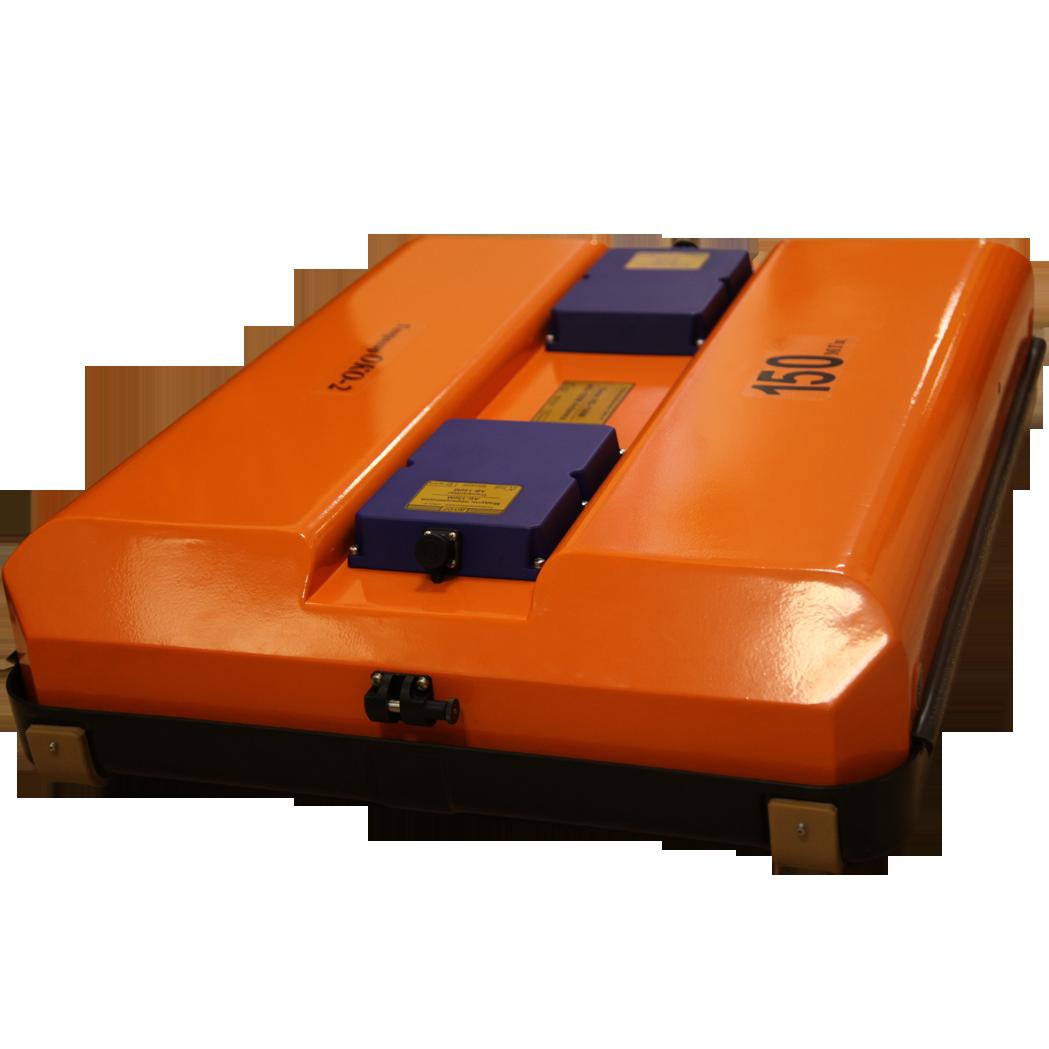 Георадар ОКО-3 с антенным блоком АБ-150М3. Комплект для поиска подземных ходов и схронов.