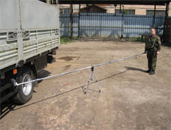 Устройство для дистанционного исследования минно-взрывных устройств ''Дистанция''