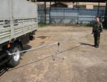 Устройство для дистанционного воздействия на минно-взрывные устройства ''Шест''