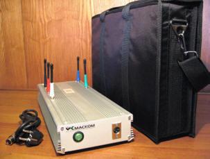 Устройство защиты от утечки информации по цифровым радиоканалам передачи данных Морфей-МК