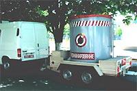 Контейнер для транспортировки взрывоопасных предметов