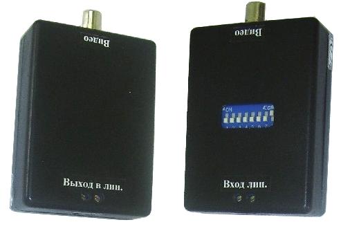 Комплект передачи видеосигнала по проводной линии одноканальный  М24-1