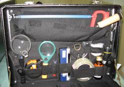 Комплект (чемодан) эксперта-криминалиста Кремний-М
