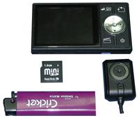 Портативный видеорегистратор с камерой SPUTNIK V MICRO DVR-LCD