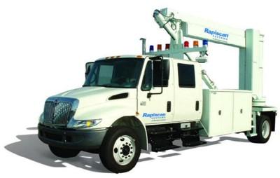 Мобильная система досмотра грузовиков, грузовых контейнеров и пассажирского транспорта Rapiscan GaRDS Mobile