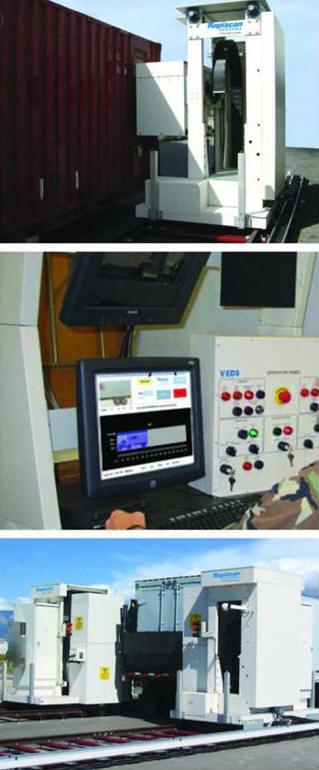 Нейтронная система досмотра для контроля транспортных средств Rapiscan VEDS™ Gantry