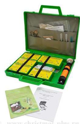 Мини-экспресс лаборатория для комплексного обследования химической загрязненности объектов окружающей средыПчелка-Р