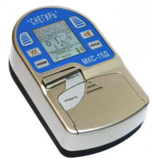 Дозиметр-радиометр МКС-15Д Снегирь