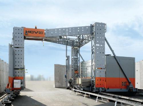 Рентгеновский сканер для досмотра груженых грузовых автомобилей и контейнеров HCVG 4028