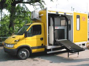 Мобильная рентгеновская досмотровая система (на грузовике) FEP 975 Scan Truck