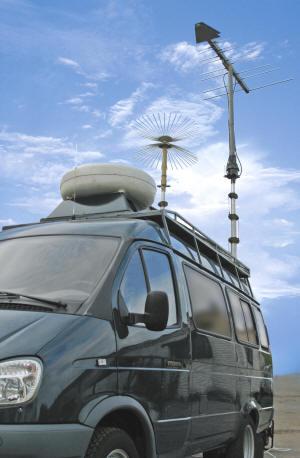 Мобильная станция радиоконтроля ИРГА-М
