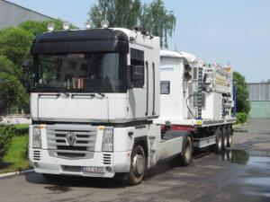 Мобильный инспекционно-досмотровый комплекс для ускоренного досмотра транспортных средств DTP-5000M