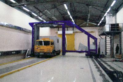 Досмотровый радиометрический комплекс ПЗ-1080