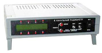 Многоканальный стационарный сигнализатор ионизирующего излучения ПСД-16