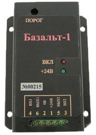 Устройство защиты от утечки речевой информации по каналам акустоэлектрического преобразования БАЗАЛЬТ – 1