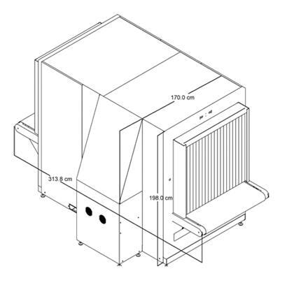 Рентгенотелевизионная установка Astrophysics XIS-100XDV