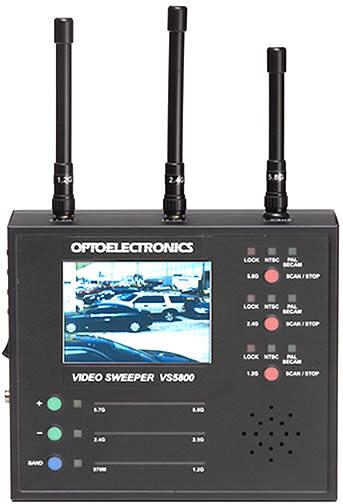 Детектор беспроводных видеокамер Optoelectronics VS5800