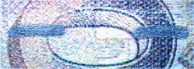 Рис. 26. Имитация ныряющей нити краской «под серебро».