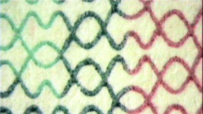 Рис. 73. Так выглядит при увеличении оттиск, выполненный способом орловской печати.