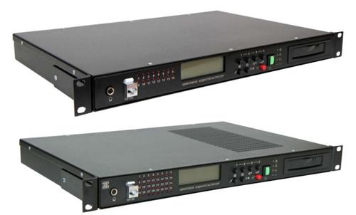 "Цифровые аудио регистраторы MDL2-xx-19"" 1U /  MDL2-xxN-19"" 1U"