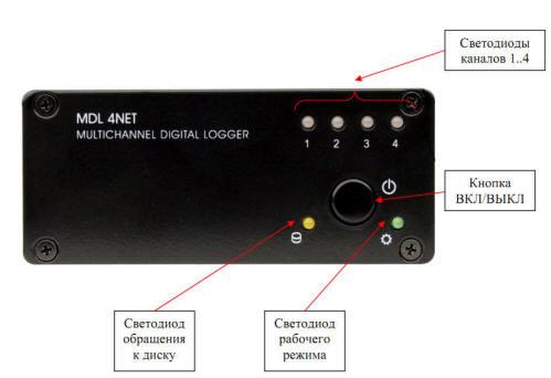 Цифровой аудио регистратор MDL2-4U-01