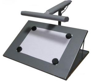 Дактилоскопический магнитный столик с подсветкой