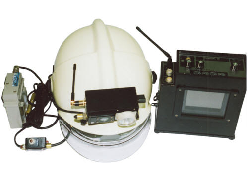 Универсальный видео-радиофицированный шлем спасателя Шлем