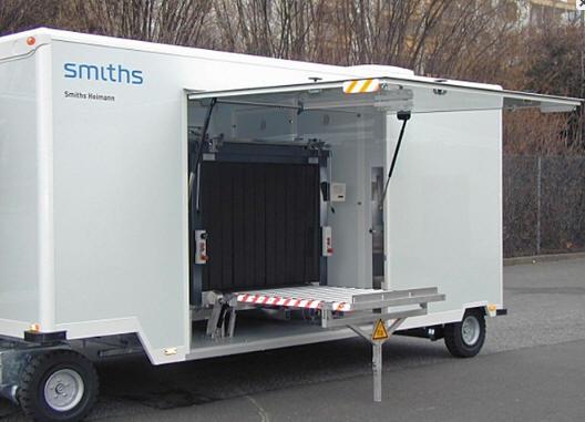 Мобильная рентгеновская досмотровая система HEIMANN ScanTrailer 130100