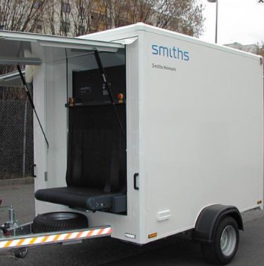 Мобильная рентгеновская досмотровая система HEIMANN ScanTrailer 8585 SA