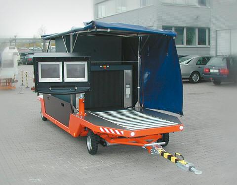 Мобильная рентгеновская досмотровая система HEIMANN ScanTrailer 9075-OT