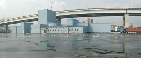 Стационарная рентгенотелевизионная досмотровая система для грузовых автомашин и контейнеров HCVS