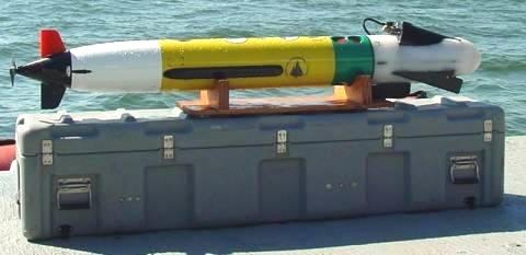 Автономный подводный аппарат Remus 100