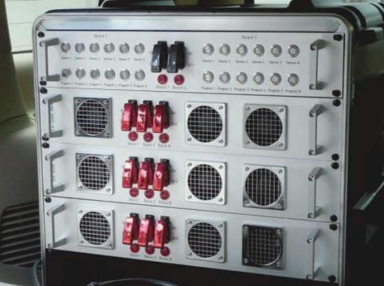 Система подавления радиоуправляемых взрывных устройств DWS