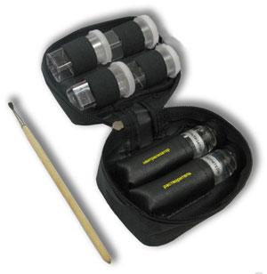 Комплект для выявления следов рук на различных поверхностях упаковочных материалов Стикер