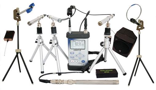 Программно-аппаратный комплекс для проведения акустических и виброакустических измерений Спрут-11