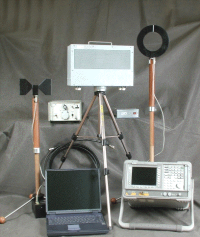Программно-аппаратный комплекс для проведения измерений реального затухания электромагнитных волн и электрических сигналов на трассе их распространения Гриф-РЗ