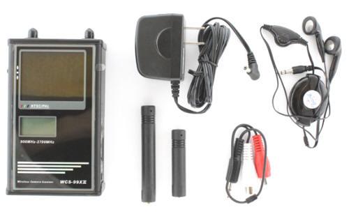 Детектор скрытых видеокамер WCH-900