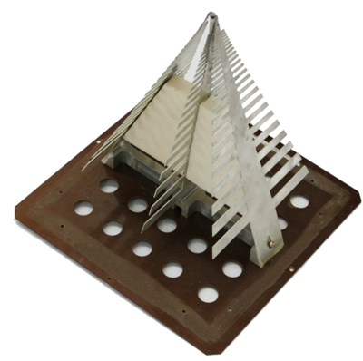 Антенна логопериодическая со стабилизированной диаграммой направленоости АС4.29Б