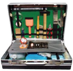 Криминалистический чемодан для изьятия обьемных следов ВК-3