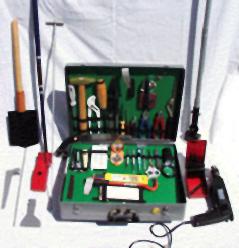 Криминалистический чемодан для выполнения поисковых работ на месте происшествия ВК-4