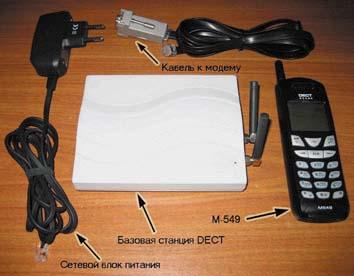 Криптотелефон DECT М-549