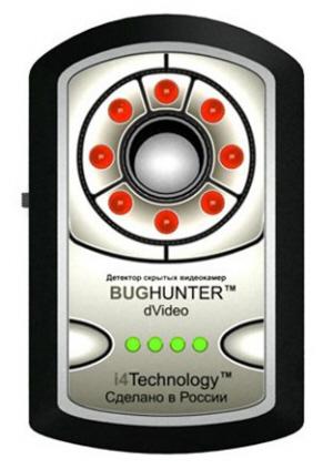 Детектор скрытых видеокамер BugHunter Dvideo