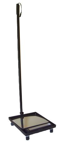 Подкатное досмотровое зеркало со светодиодным осветителем UVM – LED60
