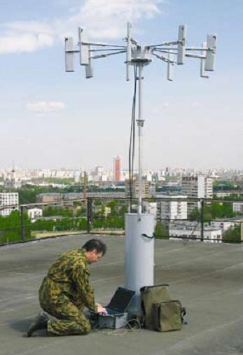Портативный автоматический радиопеленгатор АРК-П7 (АРТИКУЛ-П)