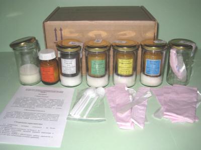 Комплект имитаторов наркотических веществ КИНВ-3