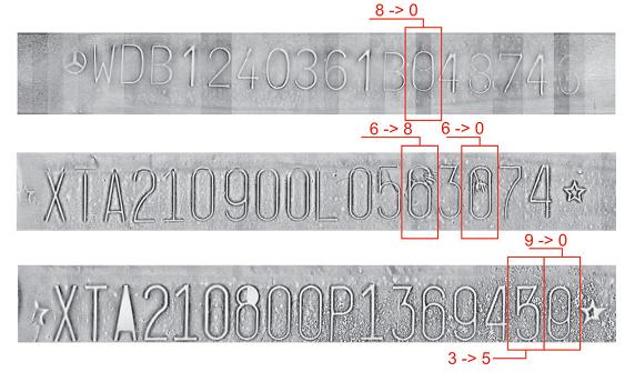 Прибор проверки подлинности номера кузова автомобиля (VIN) Регула 7505М