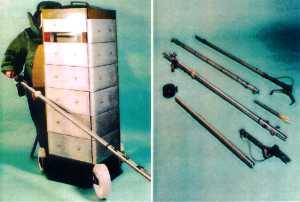 Комплект для обезвреживания взрывных устройств ЭТЦ-5