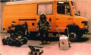 Передвижная криминалистическая взрывотехническая лаборатория (ПКВЛ) ПЗ-2003